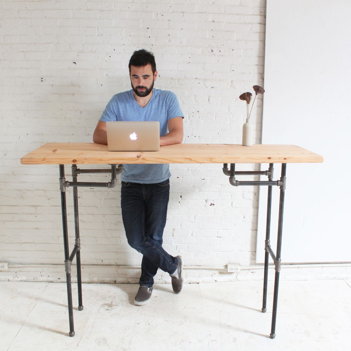 Standing desk home made