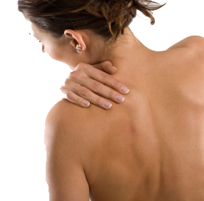 Trigger point in shoulder