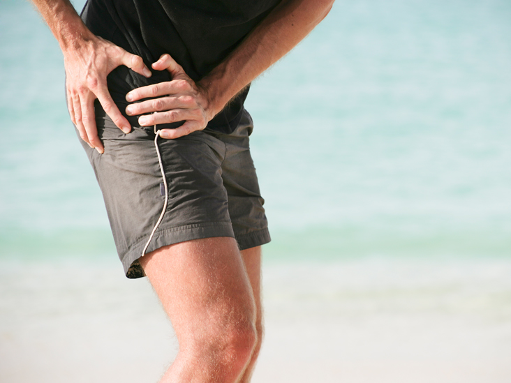 Glute min trigger point